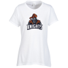View Image 1 of 2 of Optimal Tri-Blend T-Shirt - Ladies' - White - Full Color