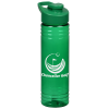 View Image 1 of 4 of Halcyon Water Bottle with Flip Carry Lid - 24 oz.