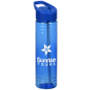View Image 1 of 4 of Halcyon Water Bottle with Flip Straw - 24 oz.