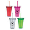 Double Wall Diamond Pattern Tumbler-18 oz.