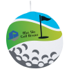 View Image 1 of 2 of ColorFusion Hot Round Golf Towel