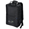 View Image 1 of 8 of Ollie Laptop Backpack with Duo Charging Cable - Embroidered