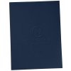 View Image 1 of 2 of Embossed Linen Paper Folder
