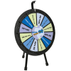 Mini Tabletop Prize Wheel - 24 hr