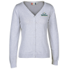View Image 1 of 3 of Imatra V-Neck Cardigan Sweater - Ladies'