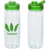 Refresh Clutch Water Bottle with Flip Lid - 20 oz. - Clear - 24 hr