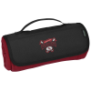 View Image 1 of 4 of Crossland Roll Up Blanket - Embroidered