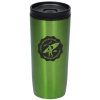 Custom Accent Stainless Travel Mug - 16 oz. - Colors