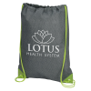 View Image 1 of 3 of Turnstone Drawstring Sportpack