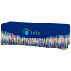 View Image 1 of 4 of Hemmed Premium Table Throw - 8'