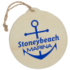 View Image 1 of 2 of Wood Ornament - Round
