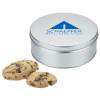 View Image 1 of 7 of Gourmet Cookie Tin - 12 Cookies