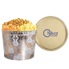 3-Way Popcorn Tin - Design - 1-1/2 Gallon
