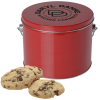 View Image 1 of 7 of Gourmet Cookie Tin - 16 Cookies