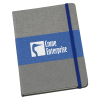View Image 1 of 4 of Heathered Colorblock Notebook