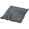 View Image 1 of 3 of Heathered Fleece Blanket - Embroidered