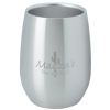 View Image 1 of 2 of Stainless Steel Stemless Wine Glass - 9 oz. - Laser Engraved