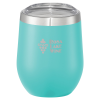 Corzo Vacuum Insulated Wine Cup - 12 oz. - Laser Engraved