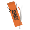 View Image 1 of 4 of Stainless Steel Straw Set