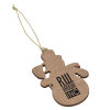 View Image 1 of 3 of Wood Ornament - Snowman