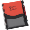 View Image 1 of 4 of Moray Business Card Notebook with Pen
