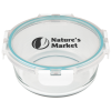 View Image 1 of 3 of Glass Food Storage with Lid - Round