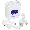 View Image 1 of 7 of Braavos True Wireless Ear Buds with Charging Case - 24 hr