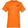 View Image 1 of 3 of Hanes Workwear Pocket T-Shirt