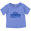 View Image 1 of 3 of Bella+Canvas Tri-Blend T-Shirt - Infant