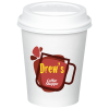 Paper Hot/Cold Cup with Traveler Lid - 10 oz. - Low Qty - Full Color