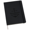"""View Image 1 of 3 of Moleskine Pro Hard Cover Notebook - 10"""" x 7-1/2"""" - Debossed - 24 hr"""