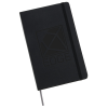 """View Image 1 of 4 of Moleskine Pro Hard Cover Notebook - 8-1/4"""" x 5"""" - Debossed - 24 hr"""