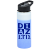 View Image 1 of 5 of Mood Stainless Bottle with Flip Straw Lid - 26 oz.
