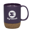 View Image 1 of 2 of Beck Coffee Mug with Cork Base - 13 oz.