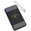 View Image 1 of 6 of Trio Wireless Power Bank with Phone Stand - 4000 mAh