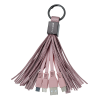 Tassel Charging Cable Keychain