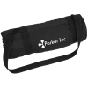 View Image 1 of 3 of Roll Up Picnic Blanket with Carrying Strap
