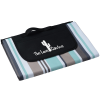 View Image 1 of 3 of Oversized Striped Picnic & Beach Blanket