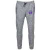 View Image 1 of 3 of Burnside Heather Performance Joggers