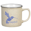 View Image 1 of 2 of Cambria Speckled Coffee Mug - 12 oz.