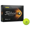 View Image 1 of 3 of Titleist Pro V1 Yellow Golf Ball - Dozen - Factory Direct