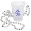 Light-up Shot Glass on Beaded Necklace - 2 oz. - Multi - 24 hr