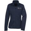 View Image 1 of 3 of Eddie Bauer Heathered Sweater Fleece Jacket - Ladies'