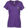 Ultimate V-Neck T-Shirt - Ladies - Colors - Embroidered