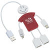 View Image 1 of 6 of TechMate Duo Charging Cable and USB Hub