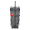View Image 1 of 4 of Refresh Simplex Tumbler with Straw - 16 oz. - Full Color