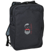 View Image 1 of 10 of Zoom Guardian Convertible Laptop Backpack - Embroidered
