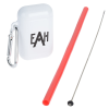 View Image 1 of 4 of Sili Straw Set in Flip Top Case