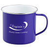View the Enamel Metal Campfire Mug - 16 oz.