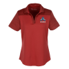 View Image 1 of 3 of Under Armour Corporate Colorblock Polo - Ladies'  - Embroidered